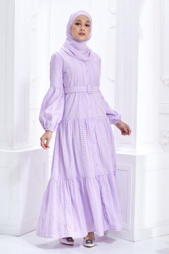 Julie Dress in Lilac